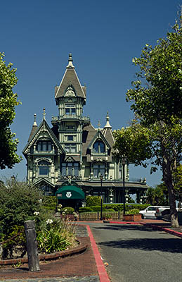 CA: North Coast Region, Humboldt County, Humboldt Bay Area, City of Eureka, Old Town, Carson Mansion, c. 1884. Now a private club. [Ask for #271.094.]